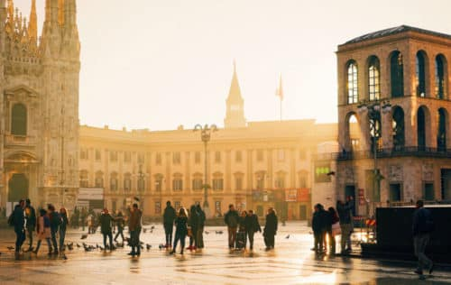 Historic Centre Milan
