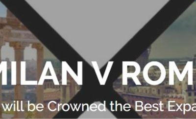 Milan v Rome – Best Expat City
