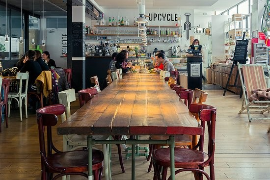 Upcycle caffe milan, Italy
