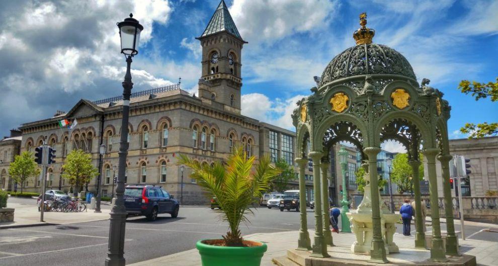 Dun Laoghaire town centre