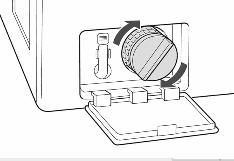 clean washing machine filter