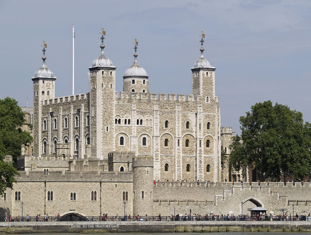 """""""The Tower of London seen during daylight"""""""
