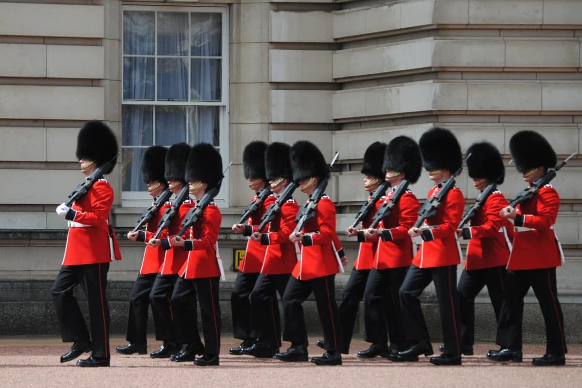 """""""Changing of the Guard at Buckingham Palace"""""""