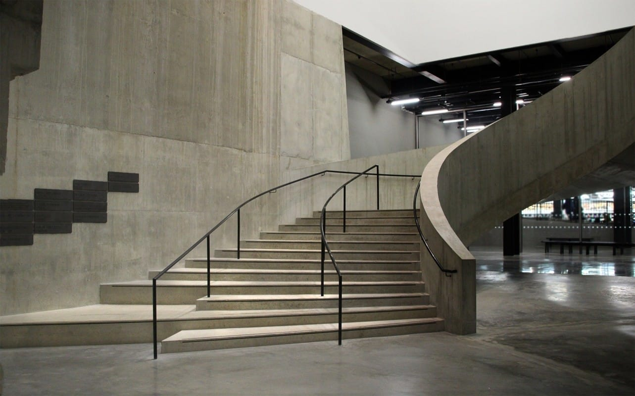 """""""Concrete stairs of the Tate Modern Museum"""""""