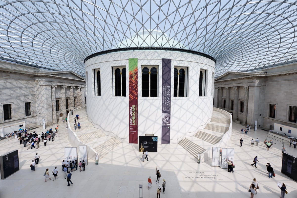 """""""The Great Court in the British Museum"""""""