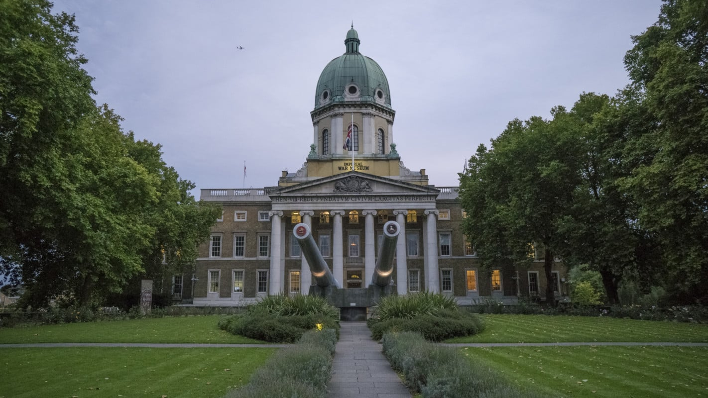 """""""The Imperial War Museum seen from outside"""""""