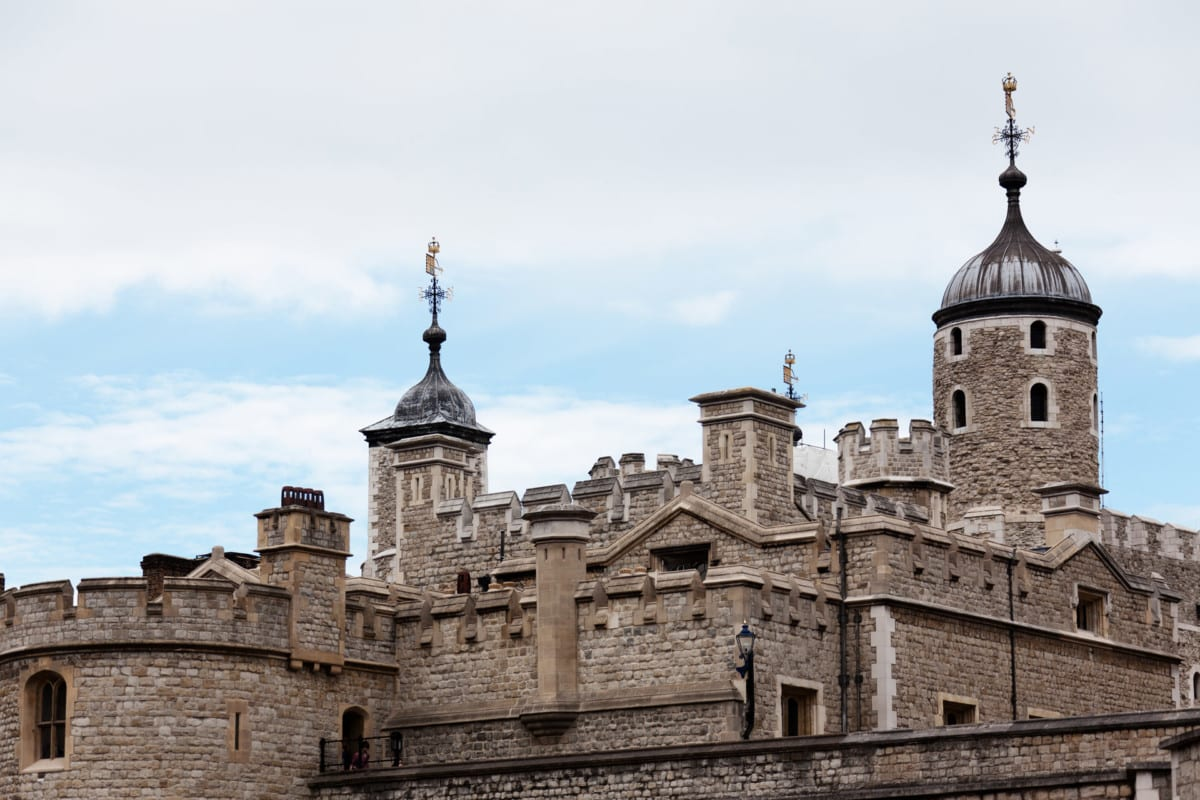 """""""The Tower of London's Walls"""""""